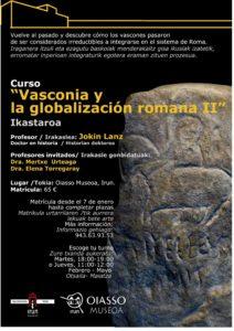 """CURSO """" Vasconia y la Globalización Romana II"""""""