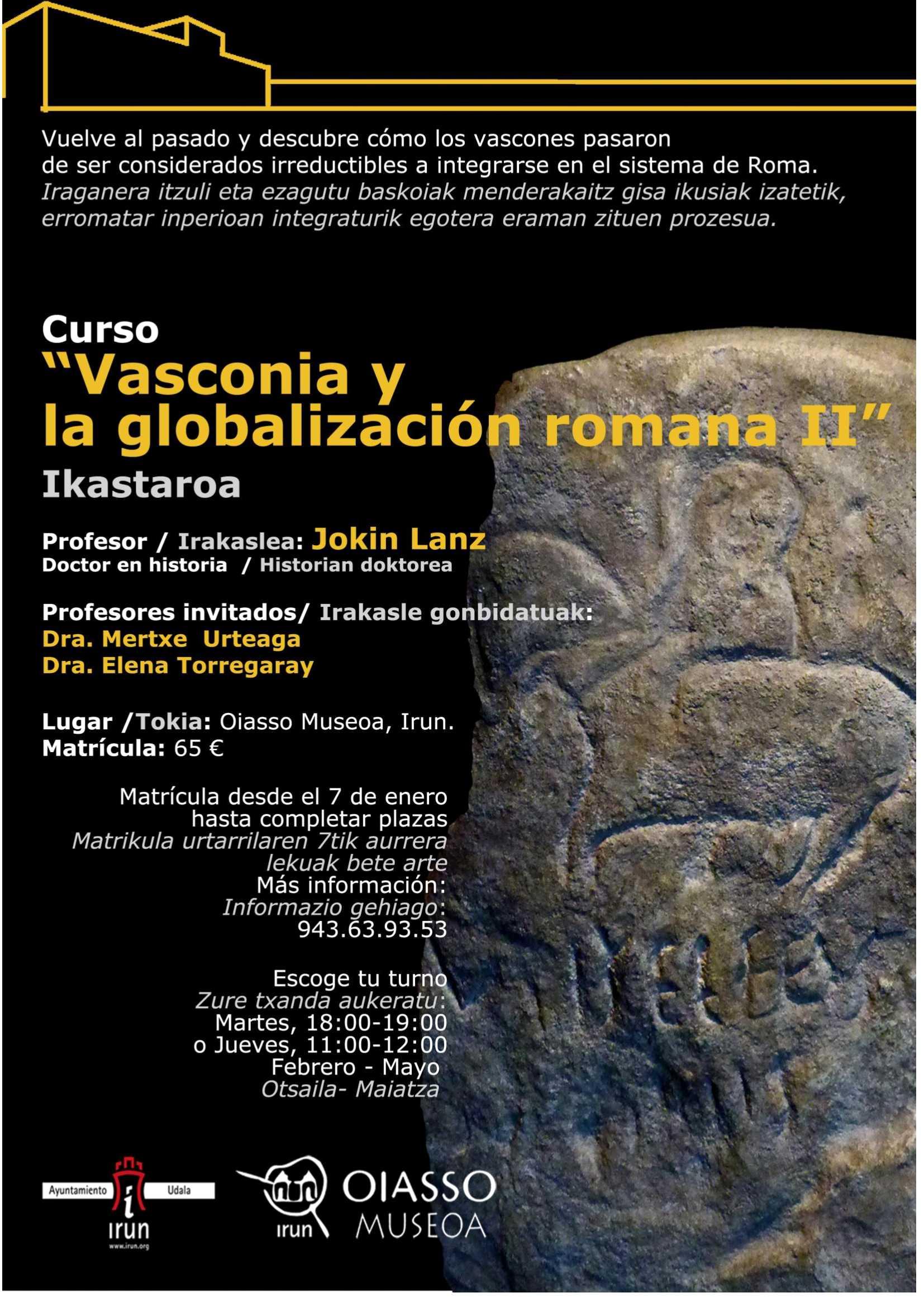 CURSO » Vasconia y la Globalización Romana II»
