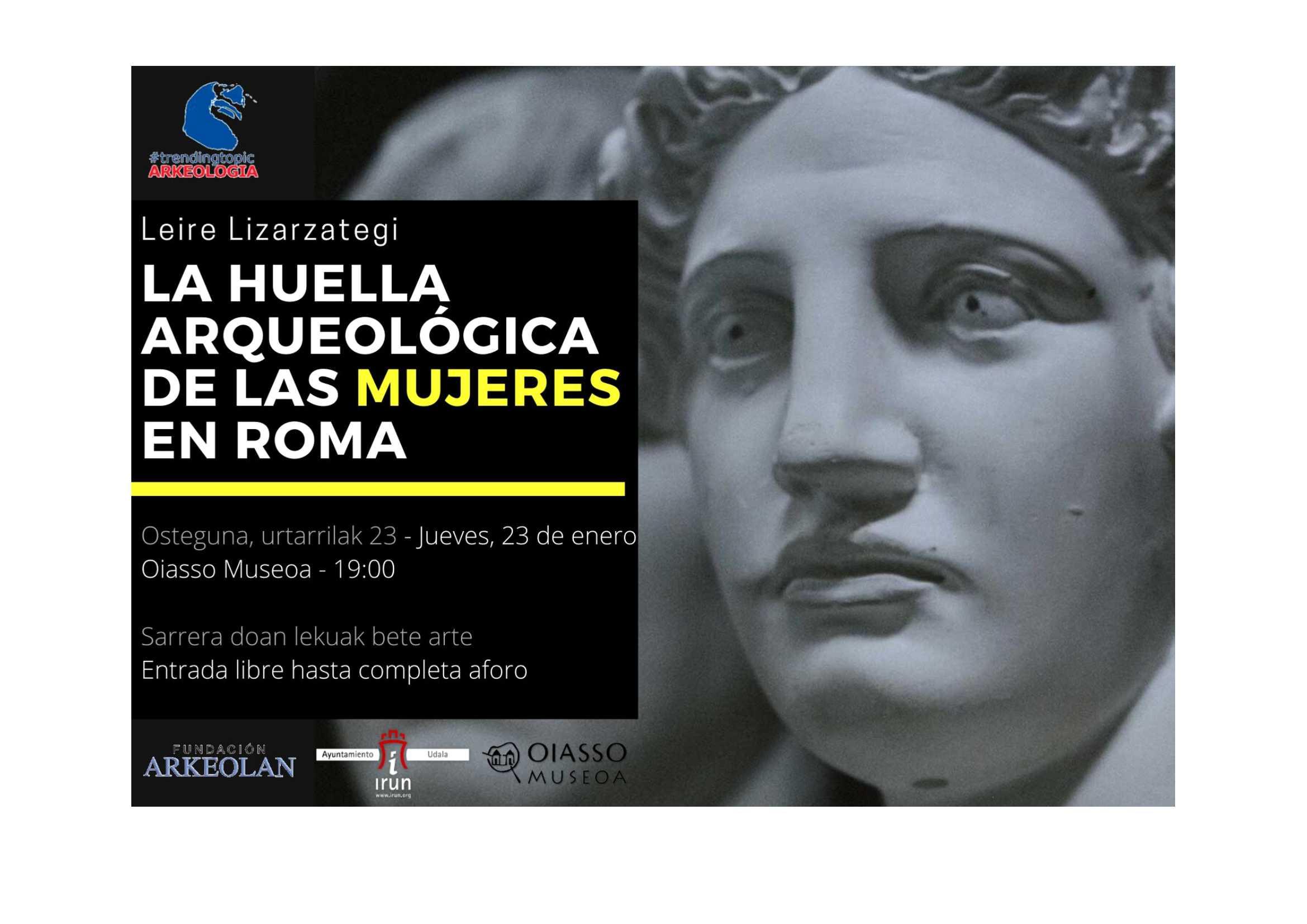 LAS MUJERES EN ROMA