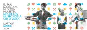 Actividades propuestas durante el Mes de los Museos de la Costa Vasca