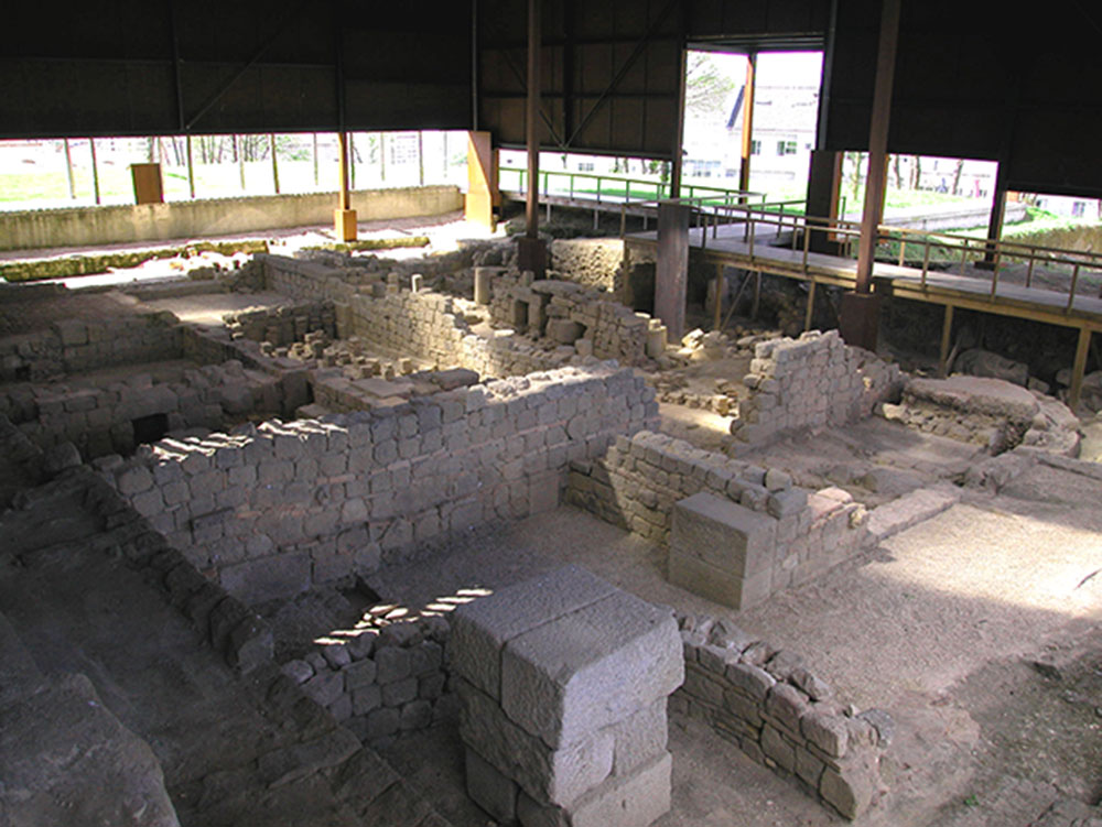 Roman Baths of Alto da Cividade