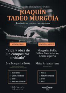 Conociendo al compositor irunés Joaquín Tadeo Murguía